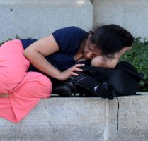 Another View of Resting Girl in DC by jules-101