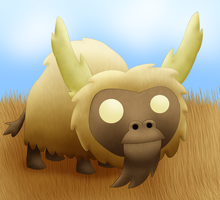 Beefalo by Kerfufflin