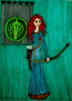 I am Merida by InkArtWriter