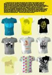 Paperme tshirt compilation by melongray