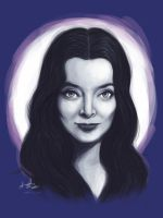 Morticia Addams by amy-liu
