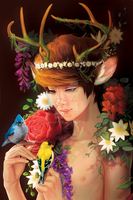 Luhan - Deer Nymph by AMSBT