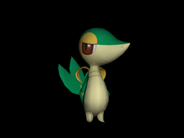 Snivy Remake by riolushinx