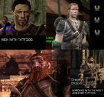 Men With Tattoos by Leonar-Cousland