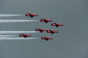 Red Arrows 7Ship 2 by hanimal60