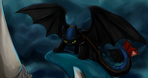 Toothless`s Challenge by ShaggyTramp