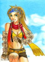 FF X2 - Rikku by kamladolly
