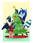 COM: Decorating the Tree by MimiMarieT