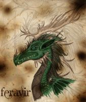 Forest dragon by Emcentric