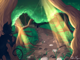 The Chronicling: Forest by Gloomy-Butt