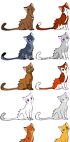 Part 1 Warrior Adops Closed~ by FrostedAdoptables