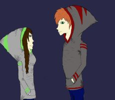 rin and jonney finished version by brianimerocks4life