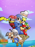 Megaman Tribute by Pedrovin