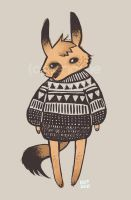 Foxy Sweater by RabidBunnie