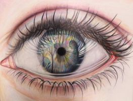 Eye Reflection (My second concentration piece) by NgaNguyen712