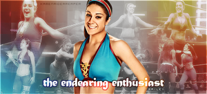 Bayley: The Endearing Enthusiast by KamenRiderReaper