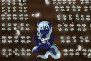 Contest Entry-  Snow Flower 2 by KenotheWolf