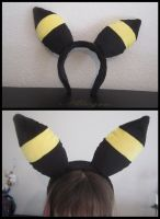Umbreon Headband by Miss-Zeldette