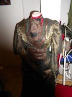Steam Punk Gown Coat by LittleMerle