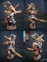 Savitarrii Sculpture by Blackmane