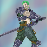 Zoro the Knight by Feral-Inari