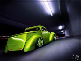 Custom Ford PickUp by Maettoe