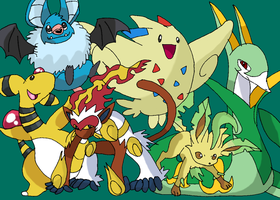 Pokemon Black Team by Tails19950