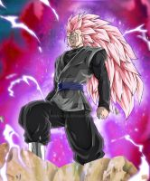 Black Vegetto Super Saiyan Rose 3 by Maniaxoi