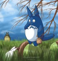 My neighbor Totoro by DragonDeamon88
