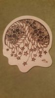 stary whimsical pyrography  by snaplilly