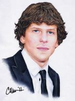 Jesse Eisenberg Drawing by Live4ArtInLA