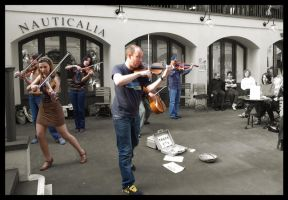Covent Fiddlers 2 by LadyShamisen