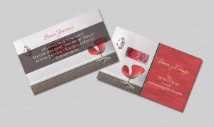 carte visite design by berbeche