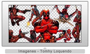 Pack Renders Deadpool by TomhyLoquendo