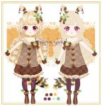 Adopts 23 - #2 Flat and Palette by Shiina-Yuki