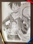 Straw hat luffy by Jbgombert