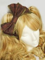 Chocolate Bar Hair Accessory by sweetmildred