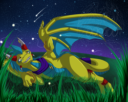 Playing with Fireflies by 00ShadowDragon00