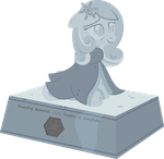 Snowdrop memorial statue by HankOfficer