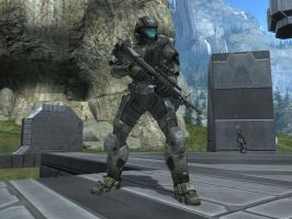 The Rookie in Halo Reach by KATTALNUVA