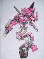 Transformers Arcee ROTF colored by isterini