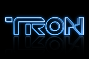 3D TRON Text by TacoApple99