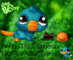 Perry The Platypus LPS by AgraelLPS