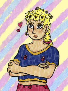 Giorno Doodle by Tealsylph