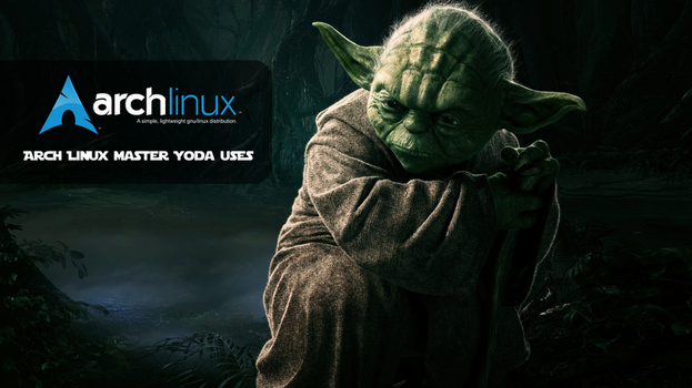 Master Yoda Arch Linux uses #03 by sistematico