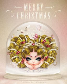 2016 MERRY CHRISTMS by kiwifruit168