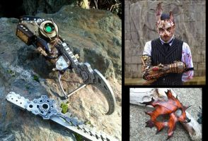 Bioshock leather gear by Skinz-N-Hydez