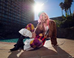 Jewelry Bonney Cosplay: Eating Poptarts 1 by SNTP