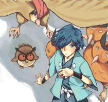 gym leader: falkner by nilampwns