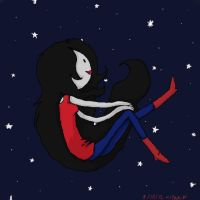 Marceline of the night by cali-cat